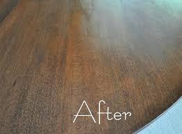 staining a table top staining a table top table after refinish teak veneer table top