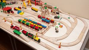 Make Wood Toy Train Track by Brio Wooden Railway Guide