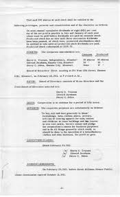 Resume For Library Job by Truman Library Resume Of Articles Of Incorporation February 23