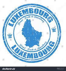 Map Of Luxembourg Grunge Rubber Stamp Name Map Luxembourg Stock Vector 144027256
