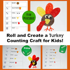 roll and create a turkey counting craft for kids wikki stix