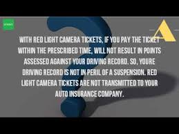 does a red light ticket affect insurance how does a red light ticket affect insurance youtube