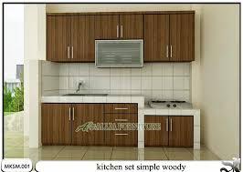 simple kitchen set design interior design