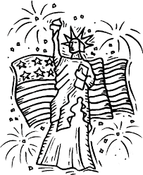 statue of liberty coloring pages 4th of july coloringstar
