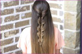 braid band how to make no band fishtail braid hairstyle