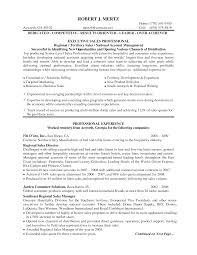 Resume Manager Regional Sales Manager Resume Berathen Com