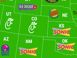 popular map shows most popular fast food breakfasts in every state