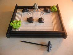 zen sand garden for desk diy tabletop zen garden ideas sand rocks wooden bridge rake bodha
