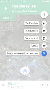 Dgoogle Maps Google Maps Für Ios Navigiert Zu Zwischenzielen U203a Pocketnavigation