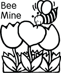 disney valentines printable coloring pages free adults bee