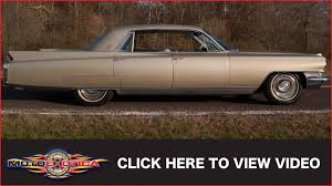 1963 cadillac 1963 cadillac fleetwood sold youtube