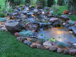 Small Backyard Ponds And Waterfalls by Backyard Waterfalls And Ponds To Beautify Your Outdoor Decor