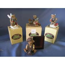Cottage Collectibles By Ganz by Cottage Collectables By Ganz Lot Of 4 Bears Allsold Ca Buy