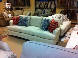 robin bruce brooke slipcover sofa new on the showroom floor