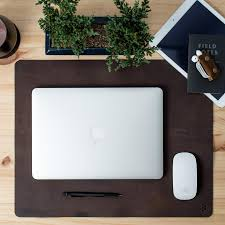 Leather Desk Mat by Handmade Leather Desk Mats By Capra Leather