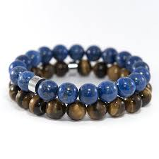 bead bracelet images 11 forty5 natural lapis lazuli bead stretch bracelet 10mm jpg