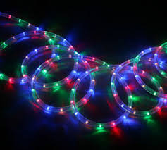 Christmas Rope Light Decorations Uk neon led flexible rope light strip tube indoor outdoor christmas