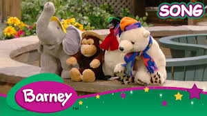 Barneyintros Youtube by Barney Song The Animals Song Compilation Barney And Friends