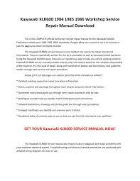 100 1986 kawasaki ninja 600 service manual m磧s de 10 ideas