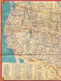 map us states highways west us map shell highway map of western united states david
