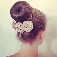 howtododoughnut plait in hair hair bun donut flowers plait put it up pinterest
