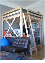 bunk beds queen over queen bunk bed plans ikea loft bed hack