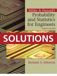 probability and statistics for engineers solutions