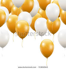 gold balloons gold balloon stock images royalty free images vectors