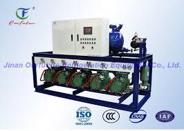 compresseur chambre froide unité de condensation de bitzer d entreposage au froid d ail unité