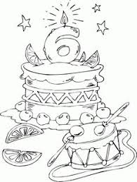 happy birthday coloring pages kiddies