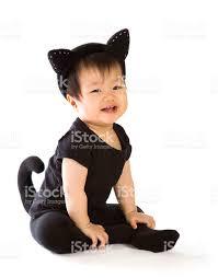 Baby Skunk Halloween Costume Baby Cat Costume Halloween Stock Photo 91516064 Istock