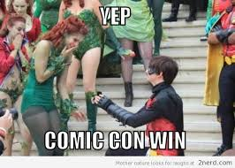 Comic Con Meme - cosplay marriage at comic con2 nerd 2 nerd2 nerd