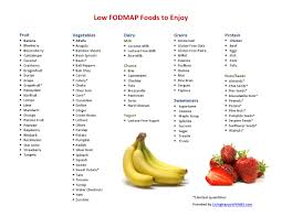 low fodmap foods to enjoy living happy with ibs
