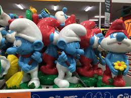 smurf garden gnomes these are 30cm toys