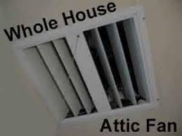 whole house attic fans and carbon monoxide carbonmonoxidemyths com