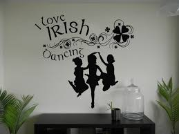blog wall stickers wall art decal stickers wall decal stickers i love irish dancing wall art decal