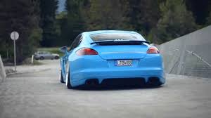 stanced porsche panamera low porsche panamera youtube