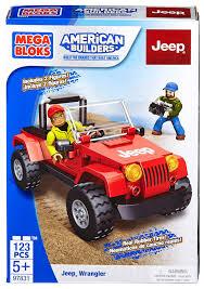 kids jeep wrangler amazon com mega bloks jeep wrangler toys u0026 games