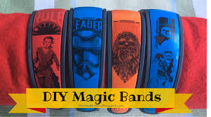Wasting Nothing Decorate Your Own Magic Band