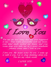 a beautiful i you ecard that you can send to your special