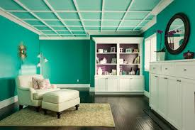 Teal Bedroom Makes A Dramatic And Colorful Statement - Home depot interior design