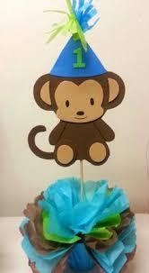 Baby Monkey Centerpieces by Boy Monkey Centerpiece Mod Monkey Decor Pinterest Monkey