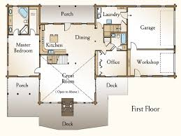log home floor plans with pictures apartments log home open floor plans cabin floor plans with loft