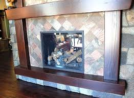 slate fireplace tile this street of dreams fireplace is tiled in copper honed and gauged slate slate fireplace