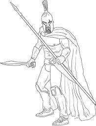 spartan army coloring pages coloring pages