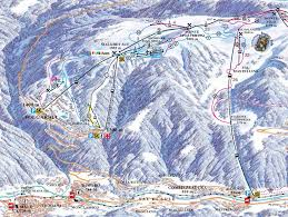 Piste Maps For Italian Ski by Folgarida Piste Map