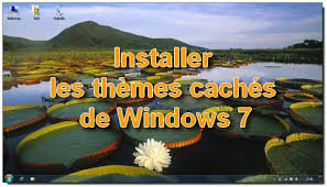 theme de bureau windows 7 windows 7 installer les thèmes cachés webochronik