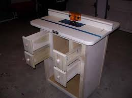 making a router table router table plans home plans