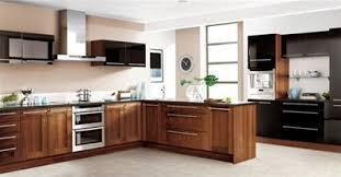 Walnut Kitchen Designs Black Gloss And Wlanut Kitchen Design Pinterest Walnut
