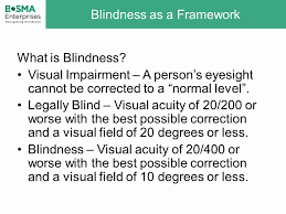 Legally Blind Definition Define Legally Blind Best Blind 2017